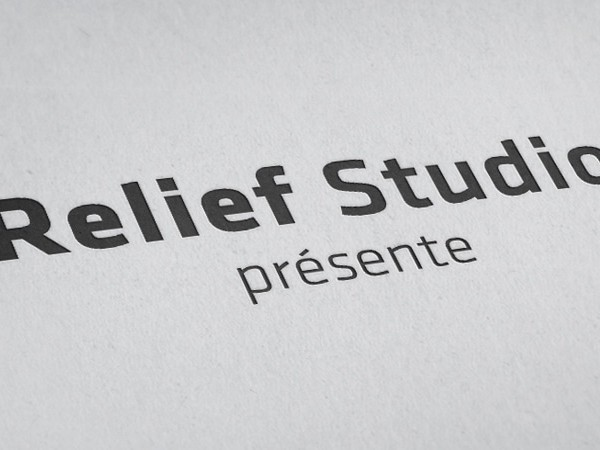 Relief Studio  Signature visuelle