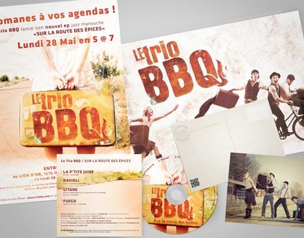 Le Trio BBQ  Identité Visuelle