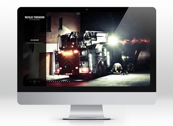 Nicolas Tarragoni  site web html