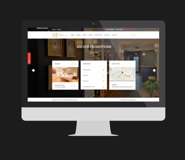 Auberge du Carré St-LouisSite web