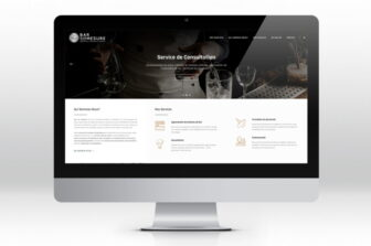 Bar sur mesureSite web & branding